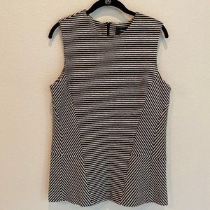 Derek Lam Striped Knit Sleeveless Top